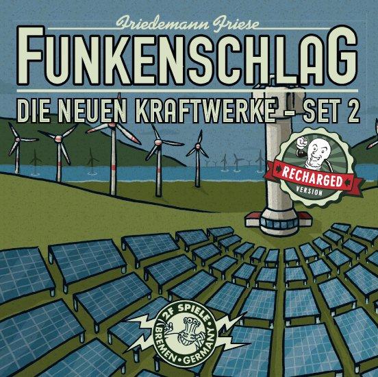 Funkenschlag Erw. 14 (Recharged Version): Die neuen Kraftwerke - Set 2